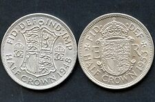1948 & 1953 Great Britain Half Crown Coins