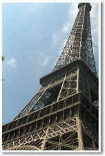 Eiffel Tower Perspective - Paris France -  POSTER