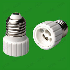 20x Edison Screw ES E27 To GU10 Light Bulb Adaptor Lamp Socket Converter Holder