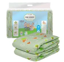 Fab Sense Adult Diaper 1 Bag (10 Diapers) Medium ABDL 3000 ml Capacity