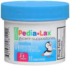 Fleet Pedia-Lax Glycerin Suppository for Children - 12ct