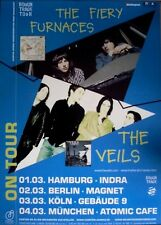 FFIERY FURNACES - 2003 - Tourplakat - The Veils - Gallowsbird's Bark - Tourposte
