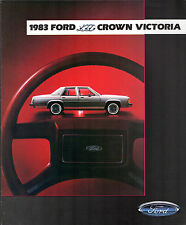 Ford LTD Crown Victoria & Country Squire 1983 USA Market Sales Brochure