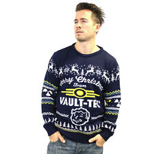 Fallout 4 UFFICIALE Vault Tec Christmas Jumper/maglione (x-Large)