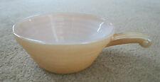 Vintage Anchor Hocking FIRE KING PEACH LUSTRE French Soup Bowl
