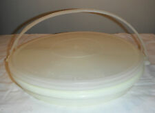 VINTAGE TUPPERWARE MILLIONAIRE LINE DIVIDED CARIOLIER 1954 NICE