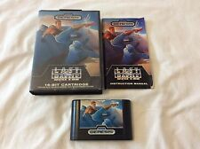LAST BATTLE MEGA DRIVE GENESIS US REGION FREE HOKUTO NO KEN FIST OF NORTH STAR
