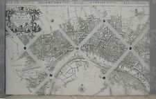 Old London Map fabric Memo/Message/Pin/Notice  board