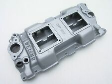 VINTAGE WEIAND WCV 283 DUAL QUAD ALUMINUM INTAKE WCFB CARBS CHEVY HOT ROD GASSER