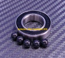 [QTY 1] 15268-2RS (15x26x8 mm) Hybrid Ceramic Ball Bearing Bearings 15268RS