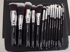 ZOEVA Complete brush Set 15pcs Vol 1 + Clutch Genuine Germany Made RRP £105 NEW