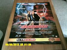 The avengers (uma thurman, ralph fiennes, sean connery) movie poster A2
