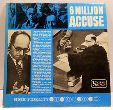 6 Million Accuse UAL9003 1961 Adolph Eichmann Trial in Israel - Holocaust Facts