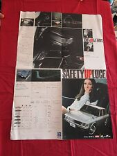 "N° 2018 / MAZDA "" safety up LUCE ""  depliant poster 1972-1978 ? JAPANESE TEXT"