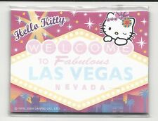 Sanrio Hello Kitty Sticky Notes Las Vegas 30 Sheets Sign