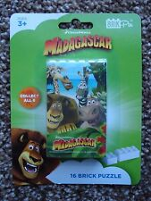 ***NEW*** 'DREAMWORKS' MADAGASCAR 16pc BRICK PUZZLE.