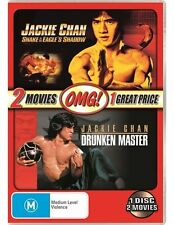 Drunken Master / Snake in the Eagle's Shadow (Jackie Chan) DVD NEW