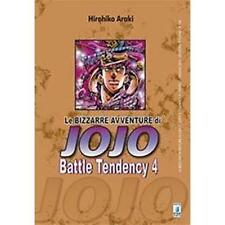 LE BIZZARRE AVVENTURE DI JOJO - BATTLE TENDENCY 4 DI 4 - STAR COMICS NUOVO