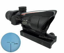Combat Real Fiber Optic Red illuminated 4x32 Rifle Scope BDC M.acog.raf reticle