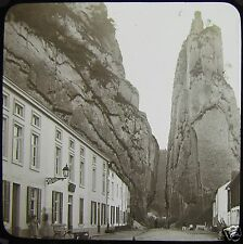 Glass Magic Lantern Slide DINANT NO2 C1890 PHOTO BELGIUM