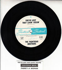 "THE RIGHTEOUS BROTHERS  You've Lost That Lovin' Feelin' 7"" 45 rpm record RARE!"