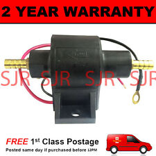 12V ELECTRIC UNIVERSAL PETROL DIESEL FUEL PUMP FACET POSIFLOW STYLE TRACTOR BOAT