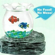 Magic Fake Fish Bowl Battery Magnetic Aquarium Kid's Birthday - Christmas GIFT