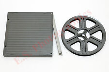 400ft 120 mètre gepe auto take up spool plus case pour super 8mm cine projecteurs