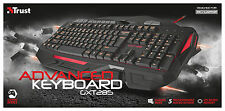 TRUST 20433 GXT285 ADVANCED GAMING KEYBOARD, LED ILLUMINATION, PROGRAMMABLE KEYS