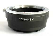 Canon EOS EF EF-S Lens to Sony E Mount Adapter for NEX NEX-5R NEX-6 NEX-7 EF-NEX