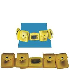 Batman - Utility Belt - Adult - Classic Yellow w/ Functioning Compartments