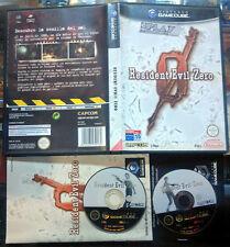 RESIDENT EVIL 0 ZERO PAL ESPAÑA COMPLETO BUEN ESTADO CAPCOM GAMECUBE GAME CUBE