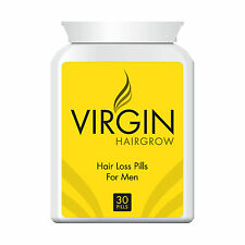 VIRGIN HAIR REGAIN PILL - GROW THICK HEALTHY HAIR IN 30 DAYS!!