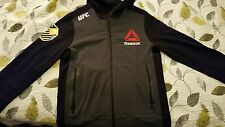 Reebok official UFC Walkout Hoodie Authentic L LARGE Chris Weidman
