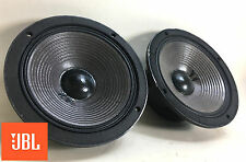 "JBL 2118H 8"" 8-ohm Midrange Speaker Pair, DCR's 5.3 / 5.2 - Tested & Clean 1685"