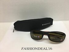 New Authentic Men's Tag Heuer Black/Red Polarized TH6006 901 Sunglasses
