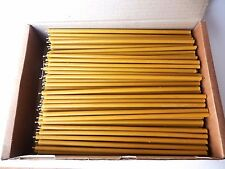 "200 -  10"" - Natural Beeswax Taper Candles Honey Scent"