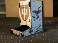 "Geman- Dice tower, roller ""flames of war""  2nd Panzer Division"