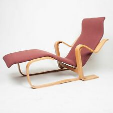 Vintage Original Marcel Breuer For Knoll Isokon Chaise Lounge Chair