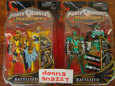 LEGENDARY BATTLIZED POWER RANGERS RANGER MYSTIC FORCE PINK RED GREEN YELLOW SPD