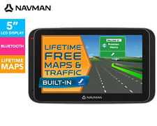"Navman MY400LMT 5"" GPS Navigator Touch screen Bluetooth Free Lifetme Car Mount"