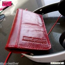 genuine real soft leather case for iphone 4s 4 cover book wallet stand holder id