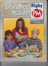 Rigby PM Collection Platinum Edition Teacher's Guide Yellow Level 6-8 NEW E1-63