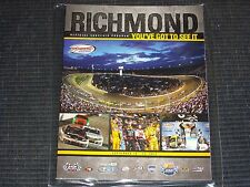 2015 RICHMOND FEDERATED AUTO PARTS 400 NASCAR EVENT PROGRAM WITH EXTRAS