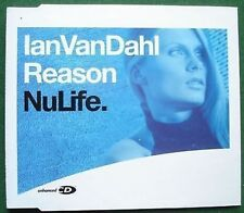 Ian van Dahl Reason Enhanced Absolutely Excellent Condition CD Single