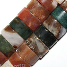 OCEAN JASPER NATURAL BEADS DOUBLE 2 HOLE BEAD OVAL 6X12MM OVALS