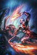 POSTER GOD OF WAR KRATOS II III ASCENSION CHAINS OF OLYMPUS 2 3 4 PS3 PS4 #3