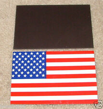 """USA American Flag Car Magnet  Heavy Quality indoor & outdoor 5""""1/2 x 3""""1/2"""