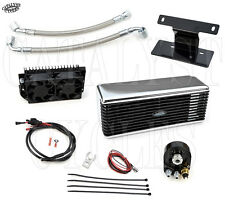 CHROME ULTRA COOL OIL COOLING SYSTEM THE REEFER OIL COOLER HARLEY TOURING 99-08