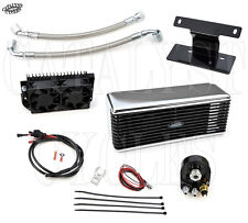 CHROME ULTRA COOL OIL COOLING SYSTEM THE REEFER OIL COOLER HARLEY TOURING 09-15
